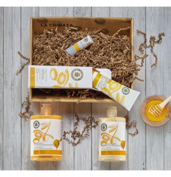 Cesta cosmetica miel